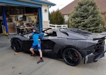 Lamborghini, построенный с помощью 3D-принтера