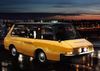 Примеры самых необычных такси: 10 фото