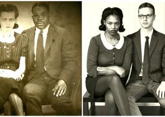 Машина времени: 21 фото из прошлого, которые воссоздали в наше время