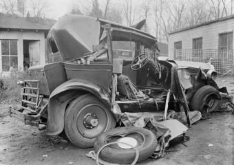 ДТП на скорости 20 км/час: аварии 1930-х годов