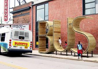 Самые красивые автобусные остановки по всему миру