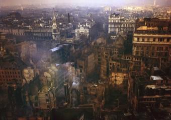 Цветные фото Лондона времен Второй мировой войны