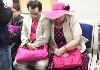 Модники в метро. Подборка из 40 фото