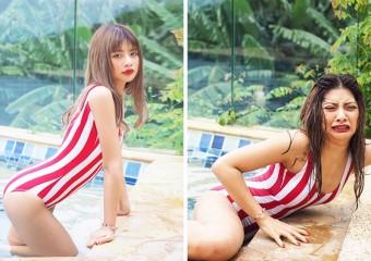 Везде обман: коллажи «Instagram/Реальность» от девушки из Таиланда