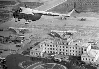 Каким был аэропорт Шерементьево в самом начале: 20 снимков