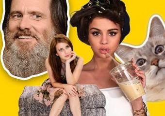 Звёзды на диване: снимки знаменитостей во время самоизоляции