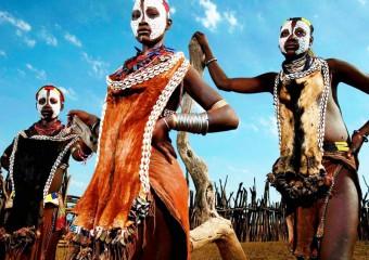 Колоритный континент: 20 фото племен Африки