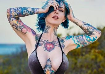Красивые и яркие девушки с тату: 30 лучших фото