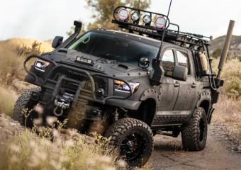 Пикап Toyota Tundra, с которым можно пережить зомби-апокалипсис