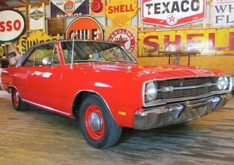 Dodge Dart Swinger 1969 года, на 40 лет забытый в гараже