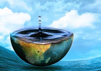 Что произойдёт если поменять воду и сушу местами?