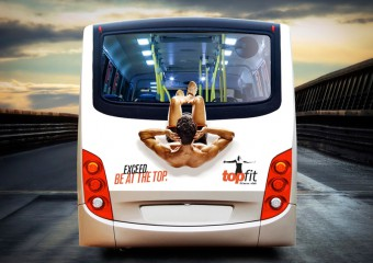 Креативная реклама на общественном транспорте: 15 фото