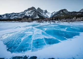 17 замёрзших водоёмов, которые выглядят как изобразительное искусство