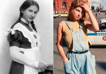 Как менялся внешний вид русских женщин в 20 веке