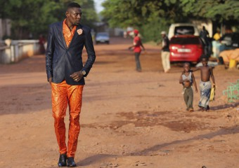 Показ мод в одной из самых бедных стран мира