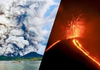 Самые зрелищные извержения вулканов за 2020 год